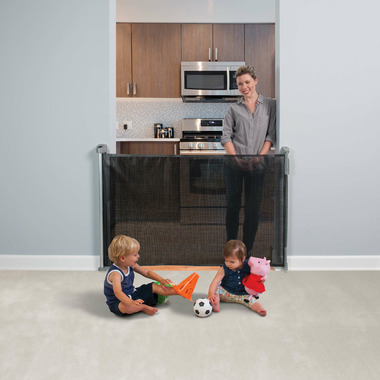 Buy Kidco Retractable Safeway Gate Black From Canada At Well Ca