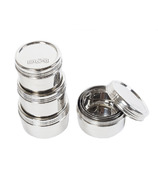 DALCINI Stainless Steel Twist Top Trio