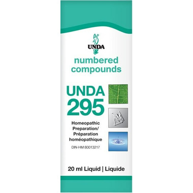 UNDA Numbered Compounds UNDA 295 Homeopathic Preparation