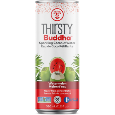 Thirsty Buddha Sparkling Coconut Water with Watermelon