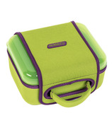 Nalgene Lunch Box Green with Green Sleeve