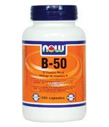 NOW Foods Vitamin B-50 Blend