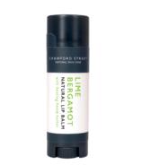 Crawford Street Skin Care Lip Balm Lime Bergamot