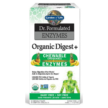 Garden of Life Dr. Formulated Enzymes Organic Digest