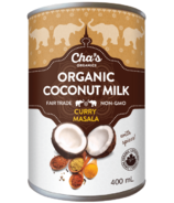 Cha's Organics Curry Masala Spiced Coconut Milk