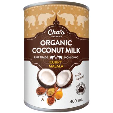 Cha\'s Organics Curry Masala Spiced Coconut Milk