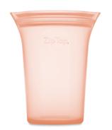Zip Top Medium Cup Peach
