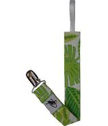 Puffin Gear Pacifier Clip Tropical Palm Lush