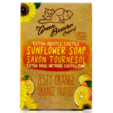 Green Beaver Extra Gentle Castile Sunflower Bar Soap