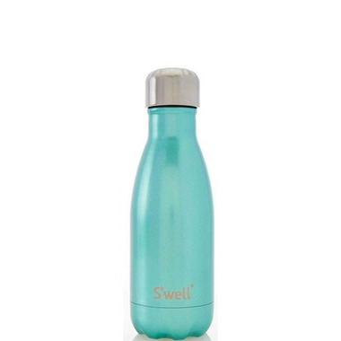 S\'well Glitter Collection Stainless Steel Water Bottle Sweet Mint