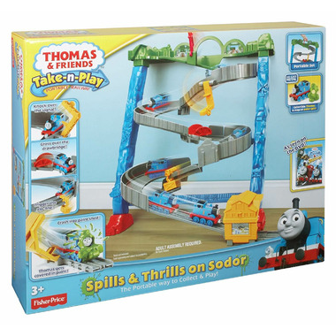 Thomas & Friends Spills and Thrills on Sodor
