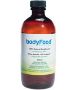 BodyFood Dental 100% Natural Mouthwash Lemongrass Mint