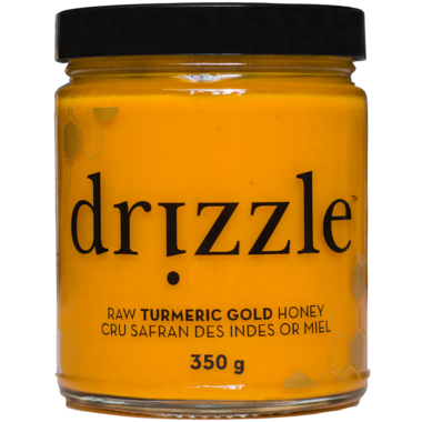 Drizzle Turmeric Gold Raw Honey
