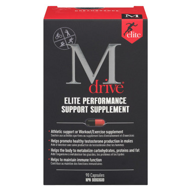 M-Drive Elite Performance Support Supplement