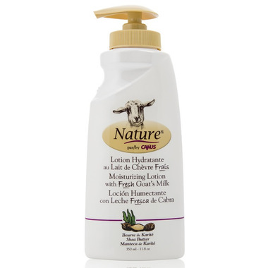 Nature by Canus Moisturizing Lotion with Fresh Goat\'s Milk Shea Butter