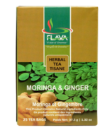 FLAVA Moringa & Ginger Herbal Tea