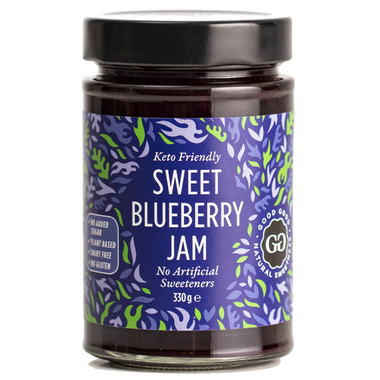 Good Good Keto Friendly Sweet Blueberry Jam