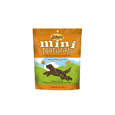 Zuke\'s Dog Mini Naturals Peanut Butter Formula