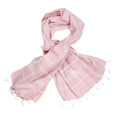 Lualoha Turkish Towel Classic Powder Pink