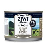 ZIWI Peak Canned Cat Food Beef Recipe