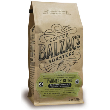 Balzac\'s Coffee Roasters Whole Bean Farmers\' Blend