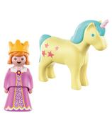 Playmobil Princesse avec licorne