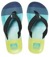 Reef Boys Kids Ahi Aqua Green