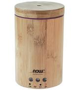Diffuseur d'huile de bambou pure en solution ultrasonique de NOW Essential Oils