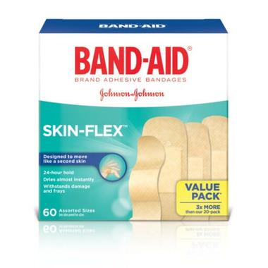 Band-Aid Skin Flex Adhesive Bandage