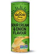 The Good Crisp Potato Crisps Sour Cream and Onion