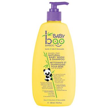 Boo Bamboo Baby Squeaky Clean Natural Baby Wash & Shampoo