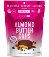 ChocXO Organic Almond Butter Cups