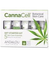 ANDALOU naturals trousse de démarrage pour les soins de la peau CannaCell