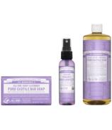 Dr. Bronner's Lavender Bundle