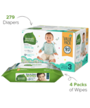 Seventh Generation Diaper & Wipes Bundle Size 3