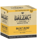 Balzac's Coffee Roasters Balzac's Blend 100% Compostable Coffee Pod