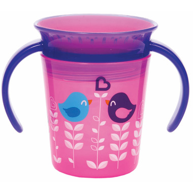Munchkin 6oz Miracle 360 Deco Trainer Cup