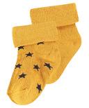 Noppies Levi Socks Honey Yellow 2 Pack