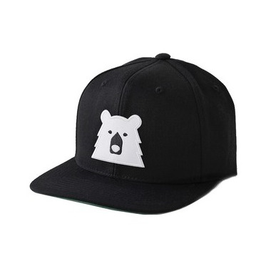 North Standard Trading Post Kids Snapback Black + Polar Bear