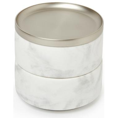 Umbra Tesora Box White/Nickel