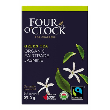 Four O\'Clock Green Tea With Jasmin