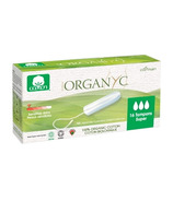 Organ(y)c 100% Organic Cotton Applicator Free Tampons