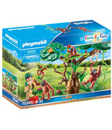 Playmobil Family Fun Orangutans with Tree