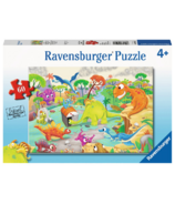 Ravensburger Time Traveling Dinos Puzzle