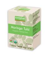 Rootalive Organic Moringa Tulsi Tea