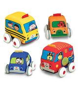 Melissa & Doug K's Kids Pull-Back Vehicles