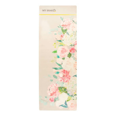 My Shakti Floral Yoga Mat And Towel Combination