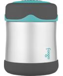 Foogo Vacuum Insulated Food Jar Teal & Smoke
