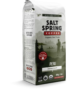 Salt Spring Coffee Peru Medium Roast Whole Bean Coffee