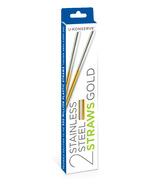 U-Konserve Stainless Steel Straw Set Gold
